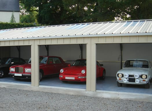 Classic Car Storage Hanson Steel Buildings