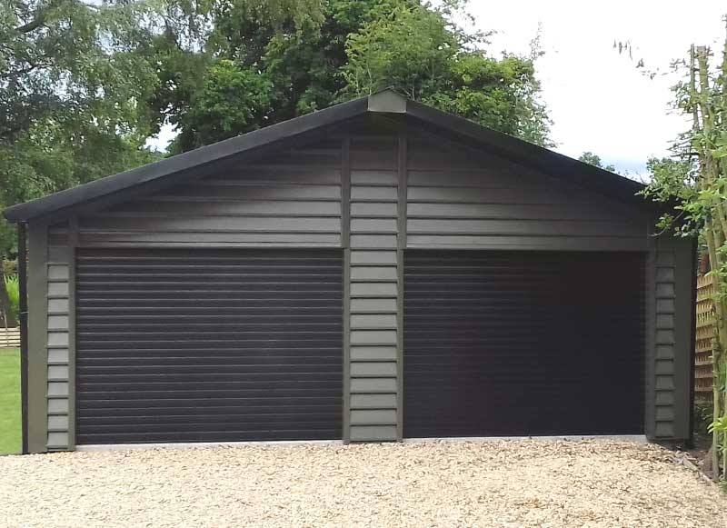 Domestic Garages Hanson Shanette Steel Buildings