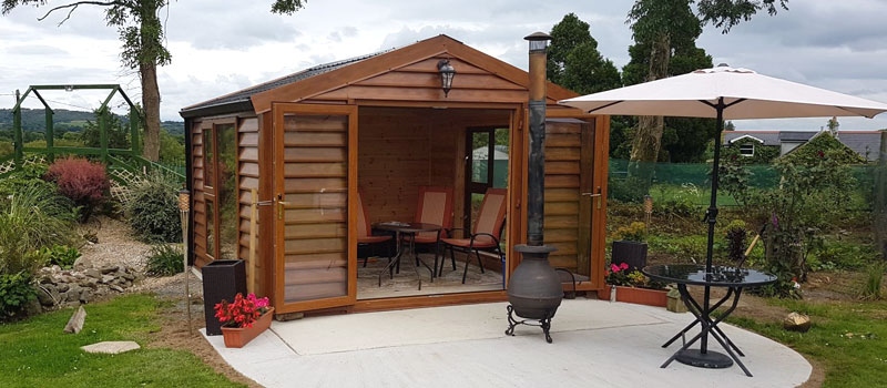 steel garden rooms