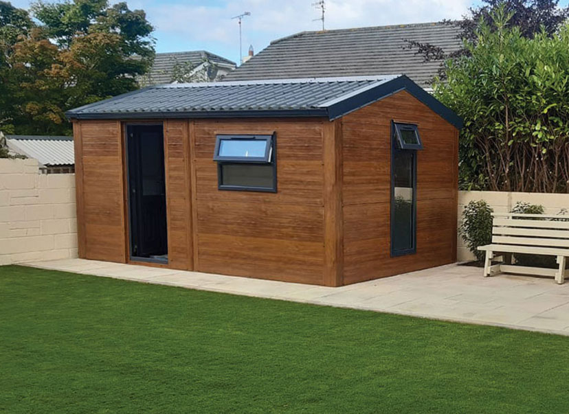 shed insulated
